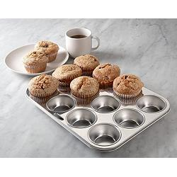 Fox Run Stainless Steel Muffin Pan 1