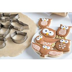 Fox Run Owl Cookie Cutter Set 1