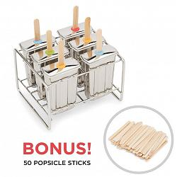 Fox Run Stainless Steel Popsicle Maker Set 1