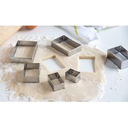 Fox Run Rectangle Cookie Cutter Set 1