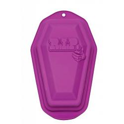 Fox Run Silicone RIP Halloween Coffin Cake Pan 2