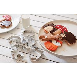 Fox Run Woodland Animal Cookie Cutter Set 1