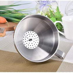 Cuisinox Stainless Steel Funnel with Filter 1