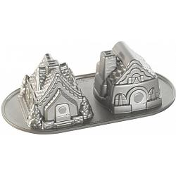 Nordic Ware Gingerbread House Duet Pan 1