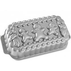 Nordic Ware Gingerbread Family Loaf Pan 1