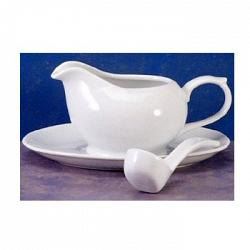 BIA Cordon Bleu Gravy Boat with Saucer and Ladle 1
