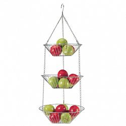 Danesco 3-Tier Hanging Fruit Basket 1