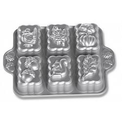 Nordic Ware Harvest Mini Loaf Pan 1