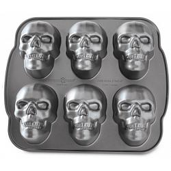 Nordic Ware Haunted Skull Cakelet Pan 1