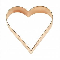 "Fox Run 3"" Copper Heart Cookie Cutter 1"