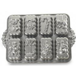Nordic Ware Holiday Mini Loaf Pan 1