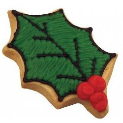 "Fox Run 3"" Holly Leaf Cookie Cutter 1"