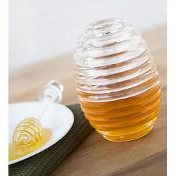 Fox Run Honey Jar & Dipper Set 1