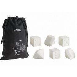 Trudeau Dice and Diamond Drink Chillers Set of 7 1