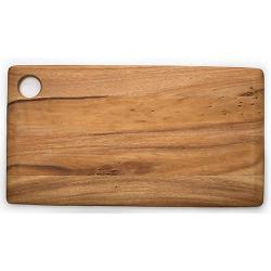 Ironwood Copenhagen Acacia Wood Rectangle Cutting Board 1