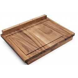 Ironwood Lyon Reversible Acacia Wood Pastry Board 1