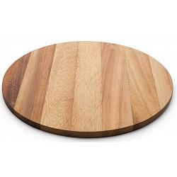 Ironwood Round Acacia Wood Cutting Board 1