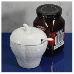 BIA Cordon Bleu Jam Jar with Spoon 1