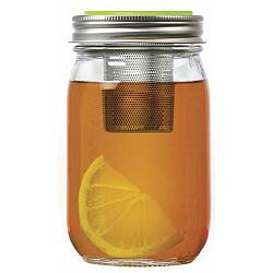 Jarware Tea Infuser Mason Jar Lid 1