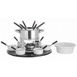 Trudeau Nouba Meat Fondue Set with Rotating Base 1