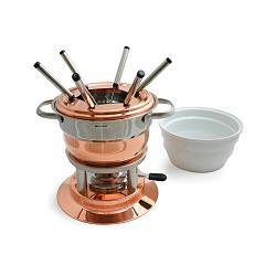 Swissmar Lausanne 3 in 1 Copper Fondue Set 1