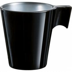 Trudeau Luminarc Black Flashy Espresso Cup 1