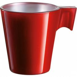Trudeau Luminarc Red Flashy Espresso Cup 1