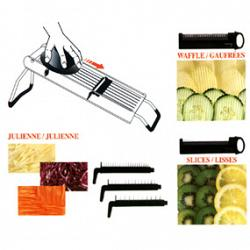 Cuisinox Stainless Steel Mandoline Slicer 2