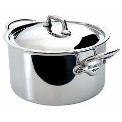 Mauviel M\'cook 8L Stainless Steel Stew Pan with Lid 1