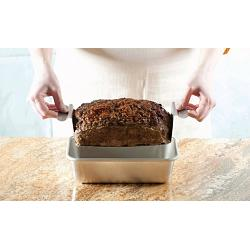 Nordic Ware Meat Loaf Pan with Lifting Trivet 1