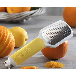 Microplane Yellow Ultimate 3 in 1 Citrus Tool 1