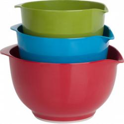 Melamine Mixing Bowl Set by Trudeau 1
