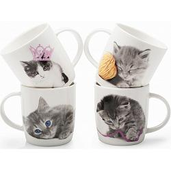 BIA Cordon Bleu Kitty Crush Mug Set of 4 1