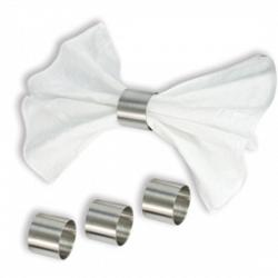 Set of 4 stainless steel Napkin Rings by Cuisinox 1