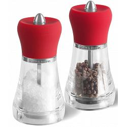 Cole & Mason Napoli Red Salt & Pepper Mill Set 1