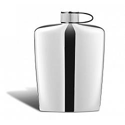 Nuance Stainless Steel Hip Flask 1