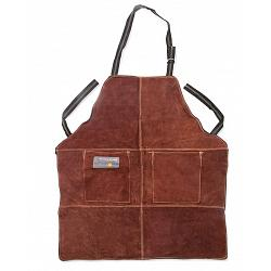 Outset Brown Leather Grill Apron 1