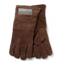 Outset Brown Leather Grill Gloves 1