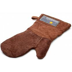 Outset Brown Leather Grill Mitt 1