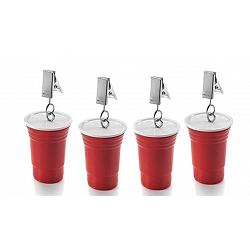Outset Red Cup Tablecloth Weights 1