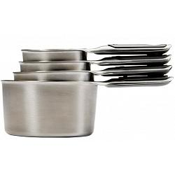 Oxo Good Grips Stainless Steel Set of 4 Measuring Cups 1