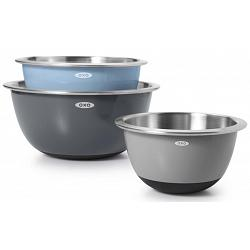 Oxo Stainless Steel Mixing Bowl Set of 3 1