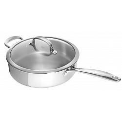 Oxo Good Grips Stainless Steel 3.8L Saute Pan with Lid 1