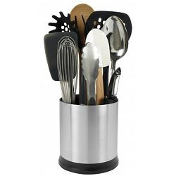 Oxo Steel Rotating Utensil Holder 1