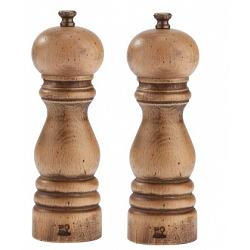 Peugeot Paris Antique 18cm Salt & Pepper Mill Set 1