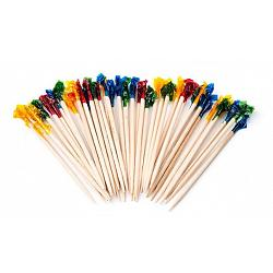 Fox Run Pack of 50 Bamboo Party Picks 2