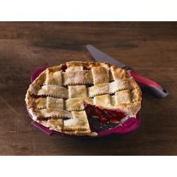 Trudeau Silicone Pie Pan with Pie Server 1