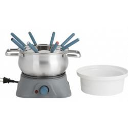 Trudeau Pillar 3 in 1 Electric Fondue Set 1