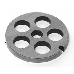 "Porkert Meat Grinder #8 Replacement Grinder Plate 5/8"" 1"