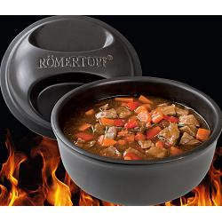 Romertopf BBQ 2-4 Person Flame Safe Grilling Dutch Oven 1